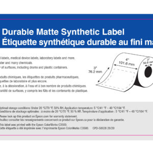 """4"""" x 3"""" GHS Chemical Label - 285 Labels (6-Pack)"""