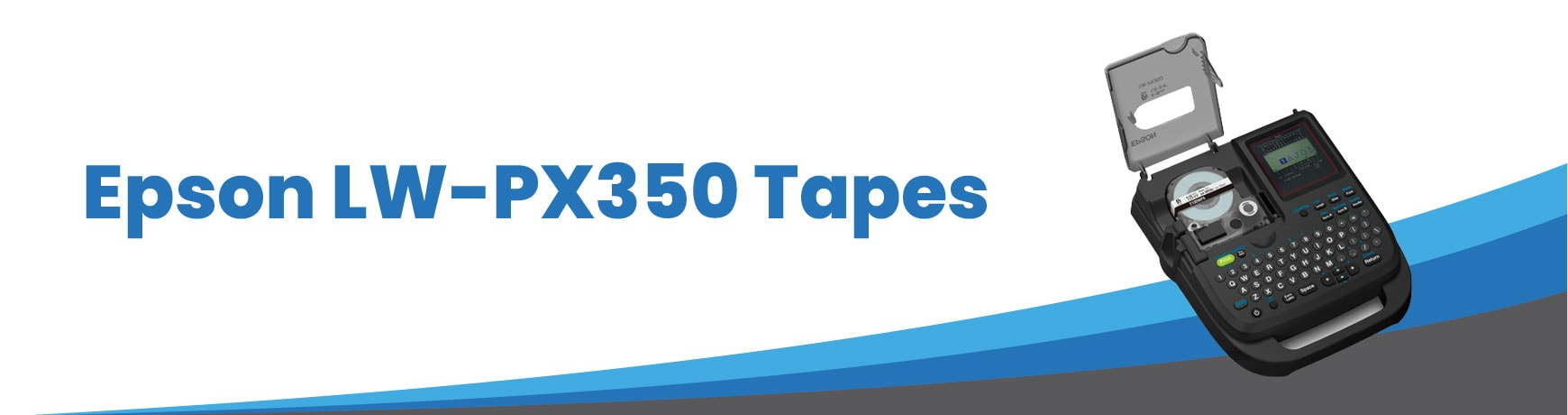 Epson LW-PX350 Tapes