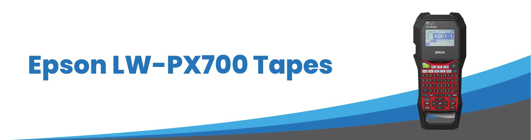 Epson LW-PX700 Tapes
