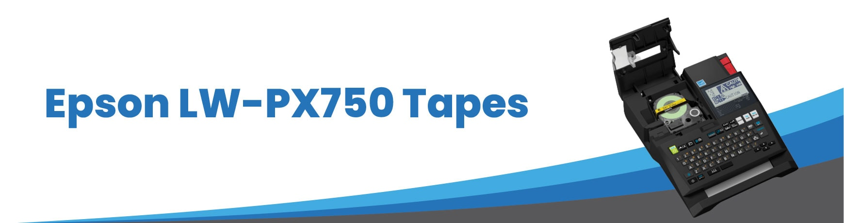 Epson LW-PX750 Tapes