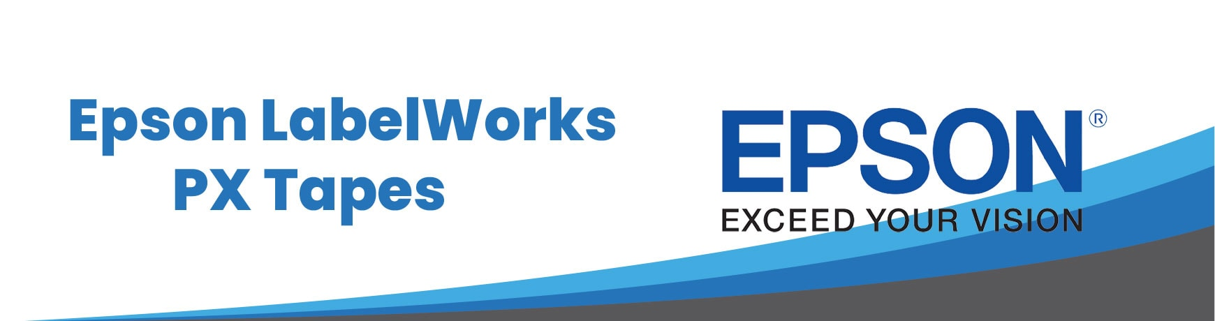 Epson LabelWorks PX Tapes