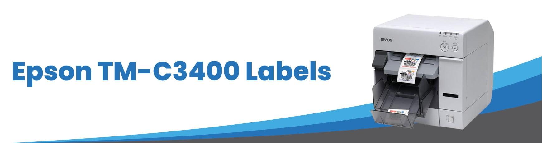 Epson TM-C3400 Labels