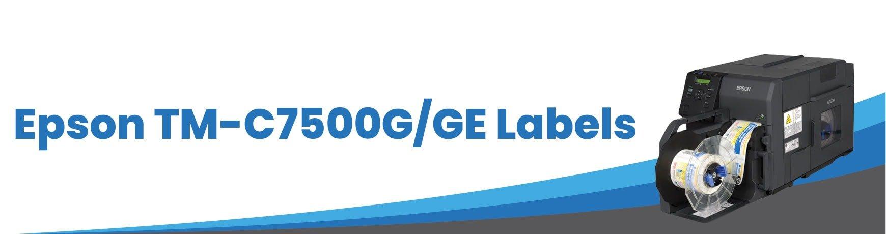 Epson TM-C7500G/GE Labels
