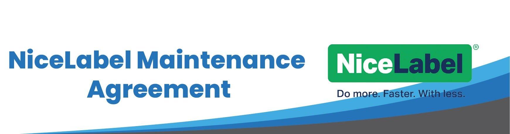NiceLabel Maintenance Agreement