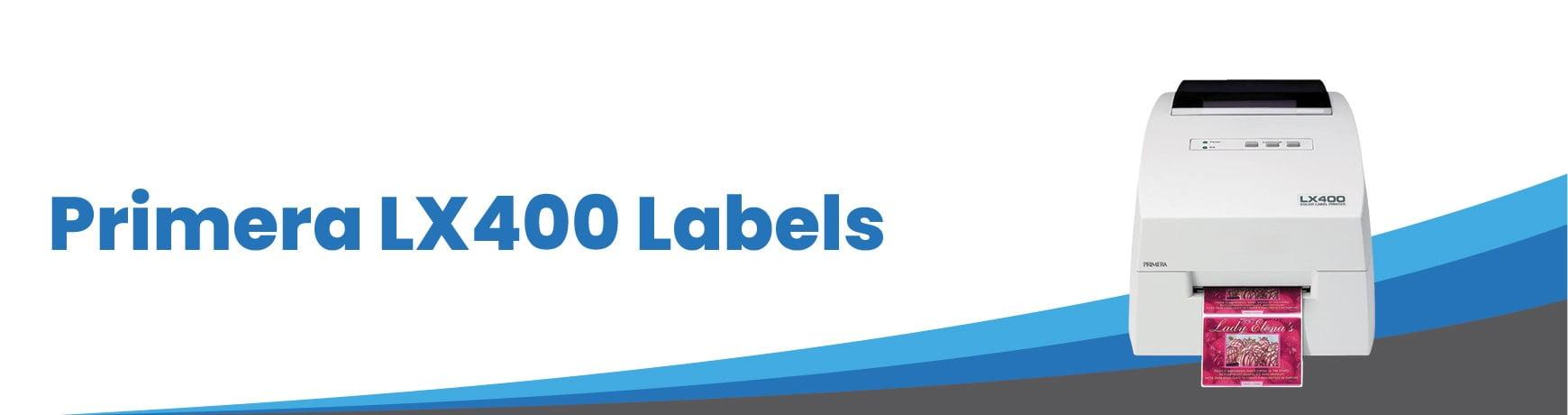 Primera LX400 Labels