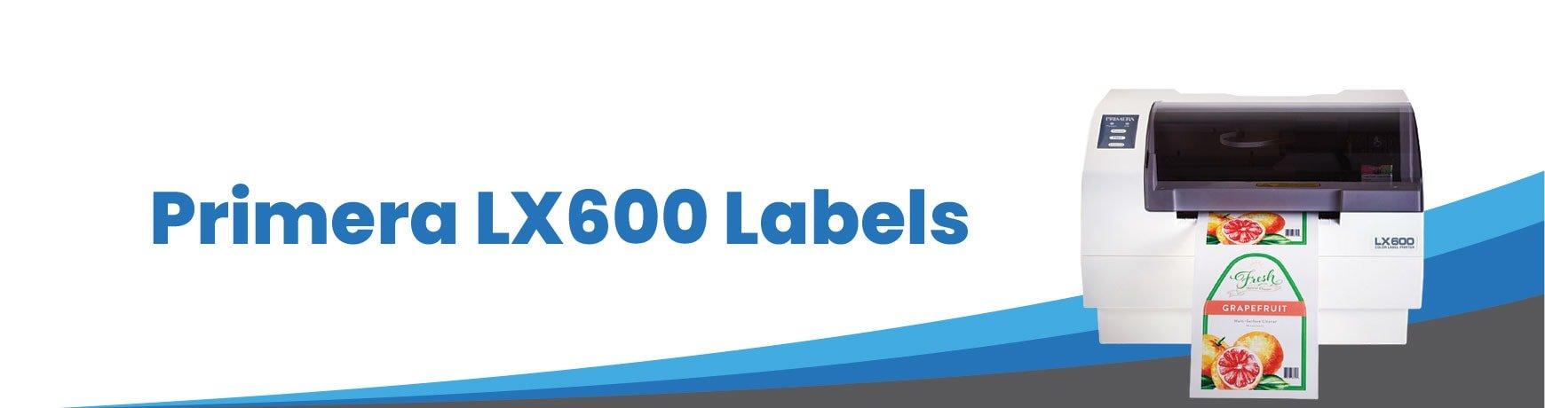 Primera LX600 Labels