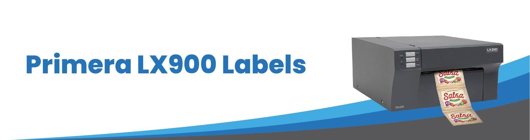 Primera LX900 Labels