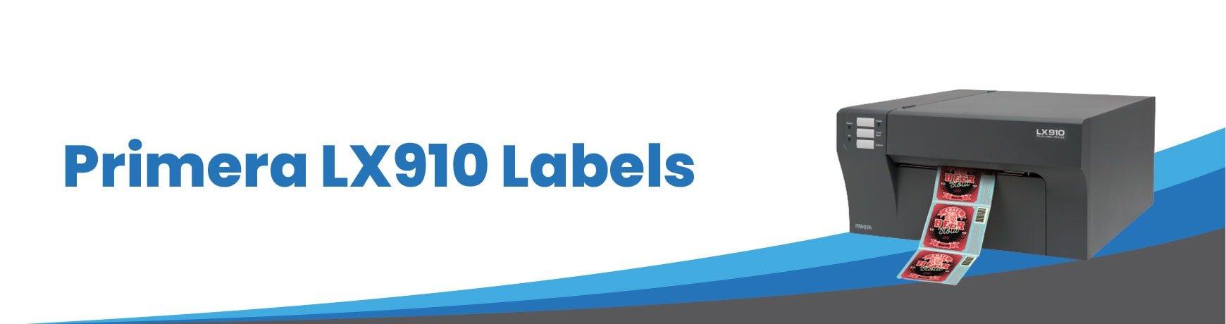 Primera LX910 Labels
