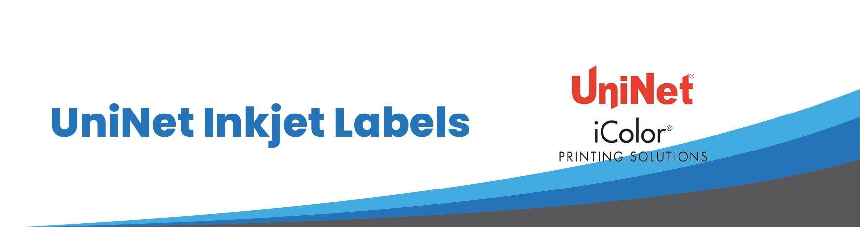 UniNet Inkjet Labels