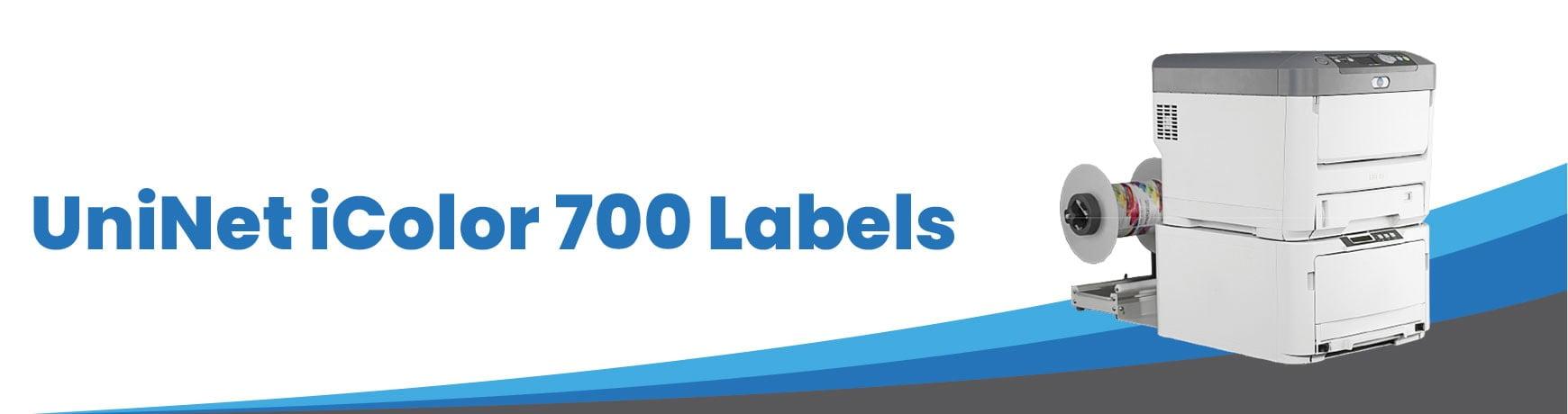 UniNet iColor 700 Labels
