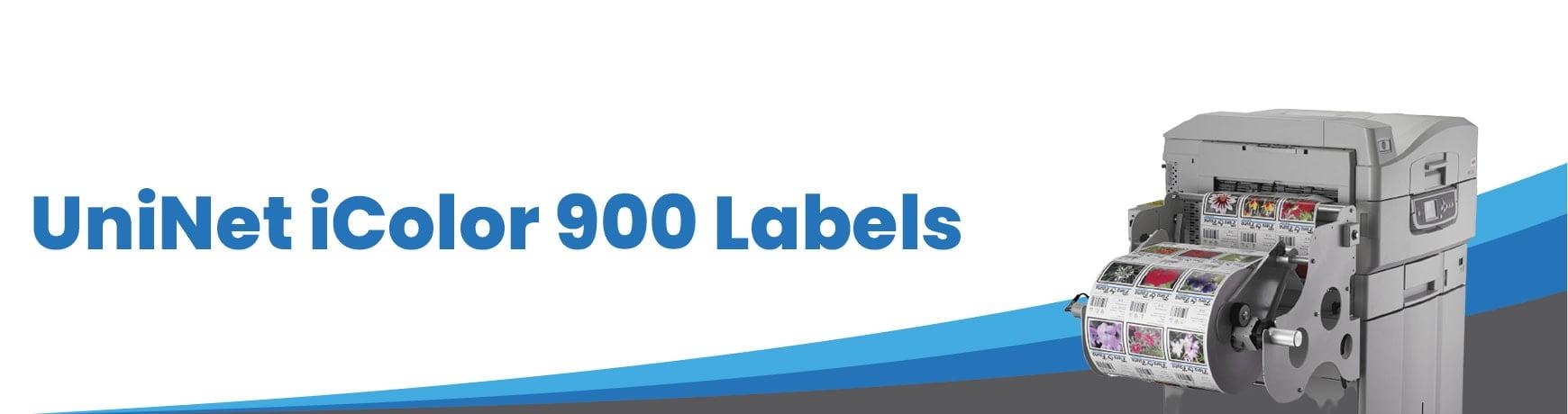 UniNet iColor 900 Labels