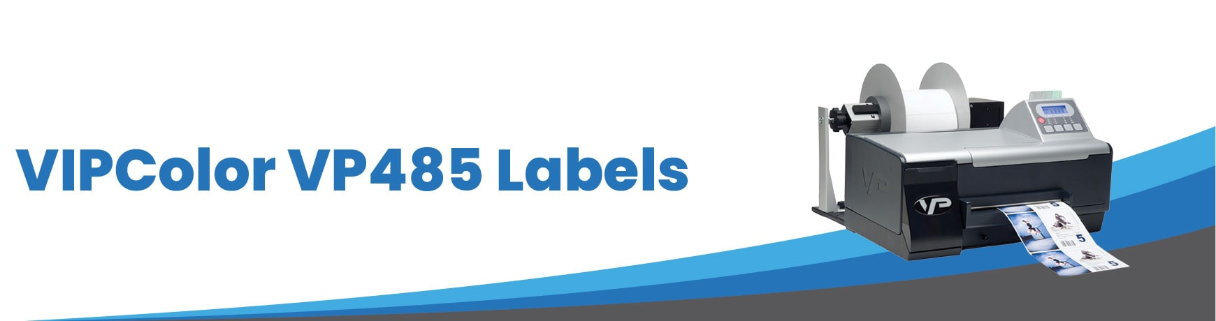 VIPColor VP485 Labels