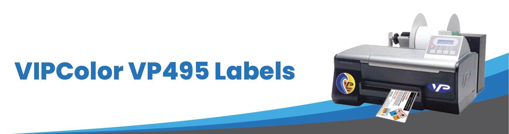 VIPColor VP495 Labels
