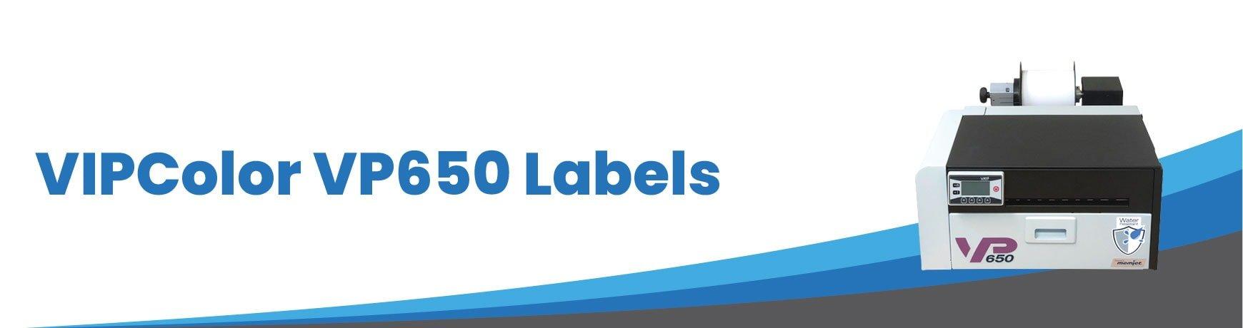 VIPColor VP650 Labels