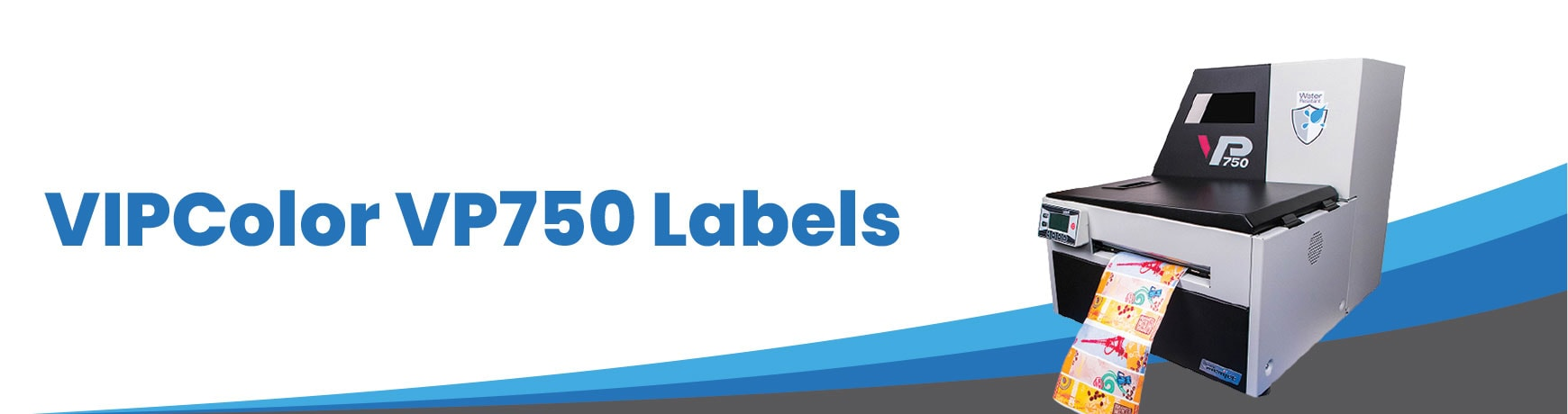 VIPColor VP750 Labels